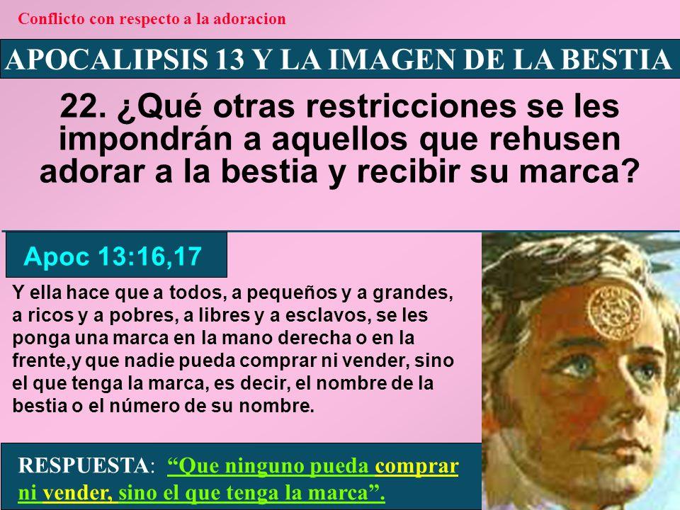APOCALIPSIS 13 Y LA IMAGEN DE LA BESTIA 23.
