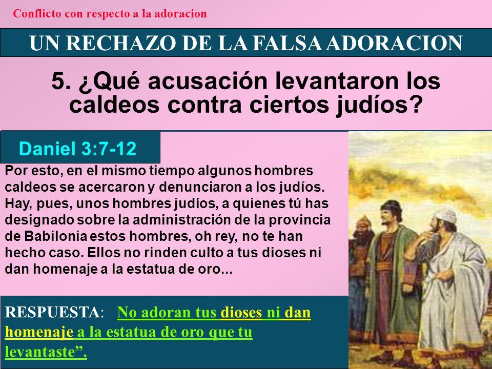 UN RECHAZO DE LA FALSA ADORACION 6.¿Cuál mandamiento prohibe la falsa adoración.