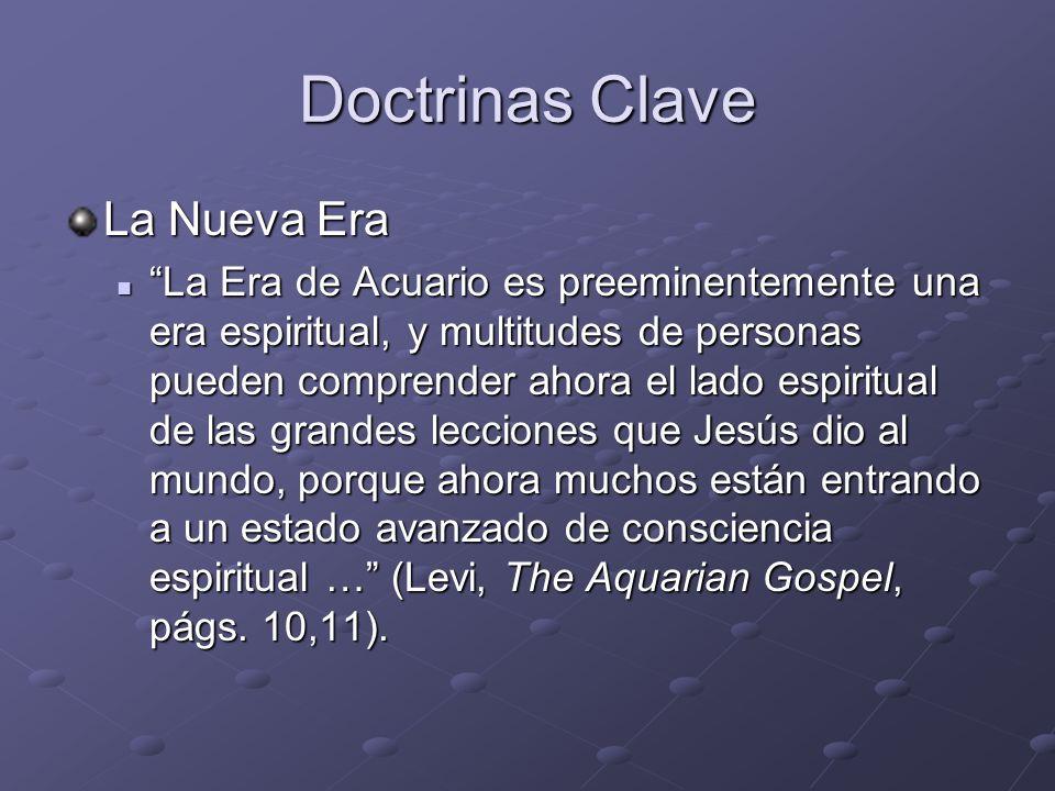 Doctrinas Clave La Nueva Era La Era de Acuario es preeminentemente una era espiritual, y multitudes de personas pueden comprender ahora el lado espiri