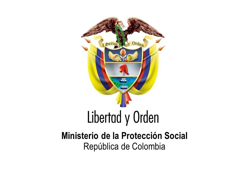 Ministerio de la Protección Social República de Colombia PROGRAMAS DE EDUCACIÓN NO FORMAL EN SALUD Total programas en funcionamiento: 791 Bogotá: 17.45% Valle del Cauca: 8.85% Cundinamarca: 7.33% Antioquia: 6.19% Santander: 5.56% Atlántico: 5.18% Otros: 49.44%