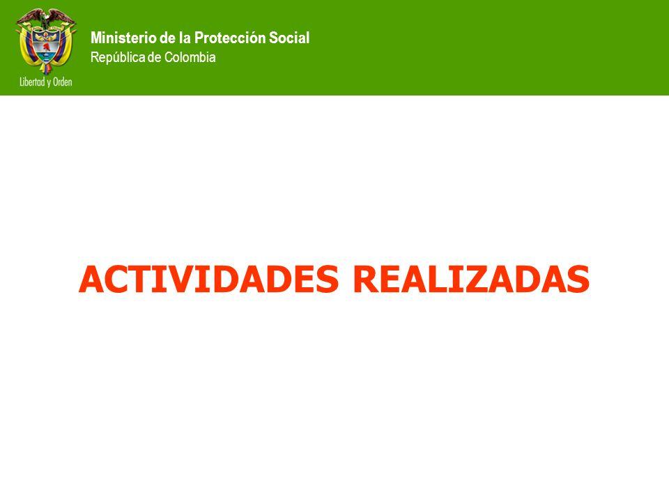 Ministerio de la Protección Social República de Colombia RETOS ENCONTRADOS 2002 Necesidad de mantener actualizada la informaci ó n Baja condonaci ó n