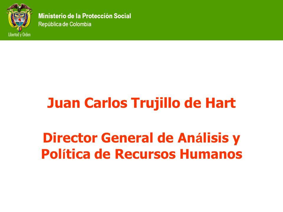 Juan Carlos Trujillo de Hart Director General de An á lisis y Pol í tica de Recursos Humanos
