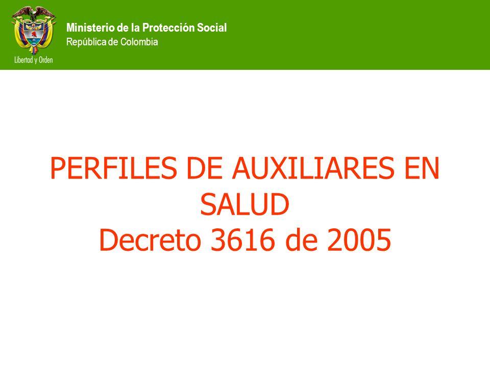 Ministerio de la Protección Social República de Colombia COMITÉ EJECUTIVO NACIONAL DE RECURSOS HUMANOS EN SALUD 2002-2005 Total programas evaluados: 3