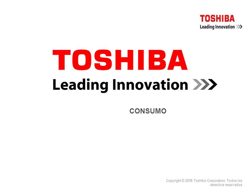 Copyright © 2008 Toshiba Corporation. Todos los derechos reservados CONSUMO