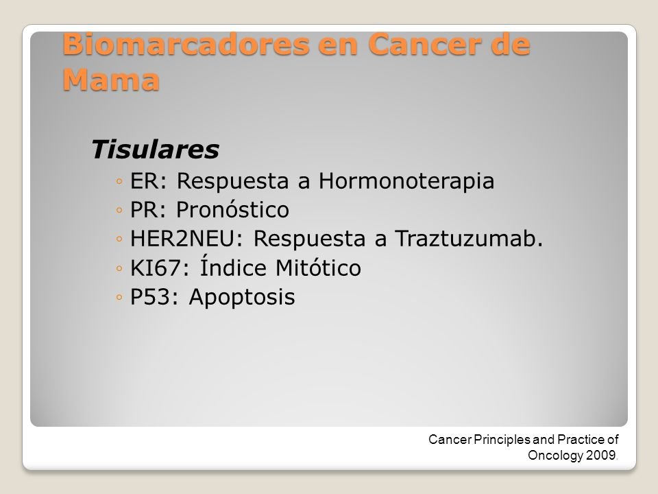 Sericos CA15-3: Diagnostico y recurrencia CA27-29: Diagnostico y recurrencia ACE: Detección metástasis y monitoreo.