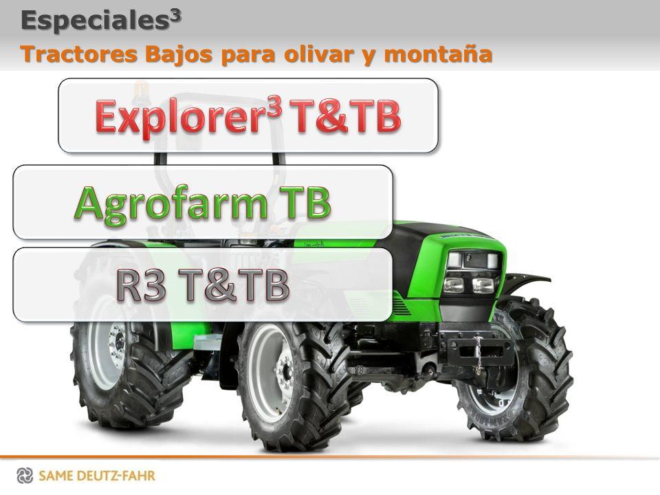 Especiales 3 Tractores Bajos para olivar y montaña