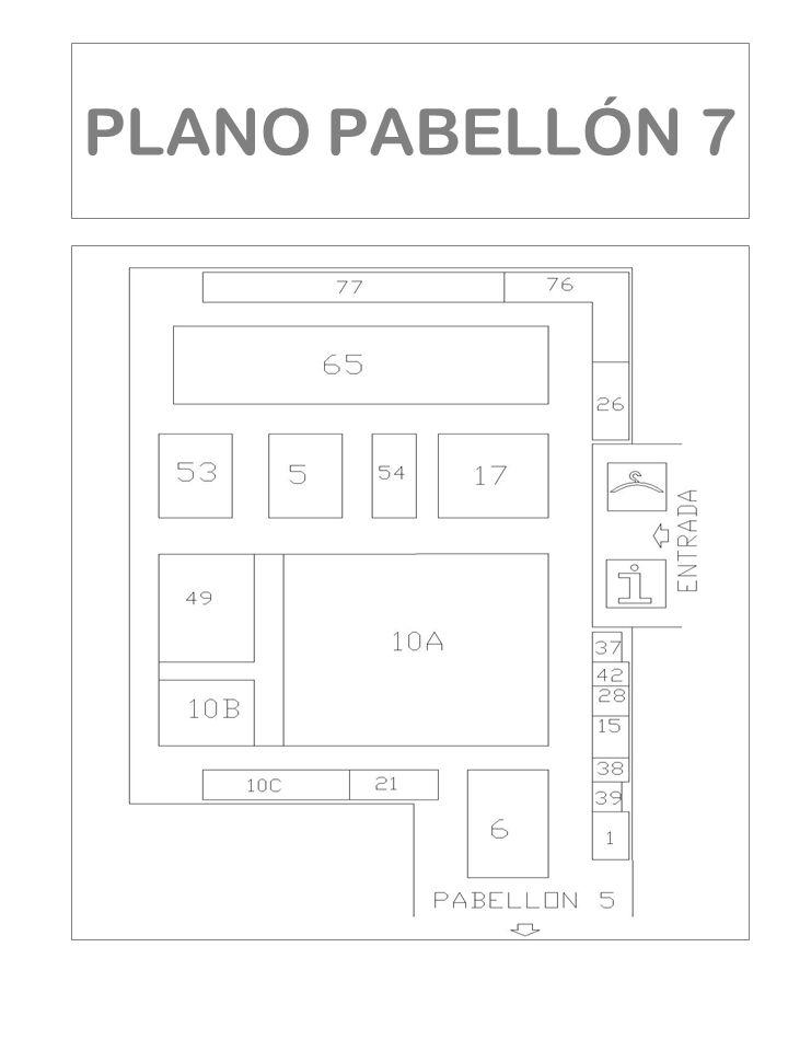 PLANO PABELLÓN 7
