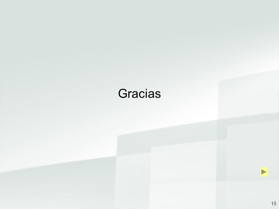 15 Gracias