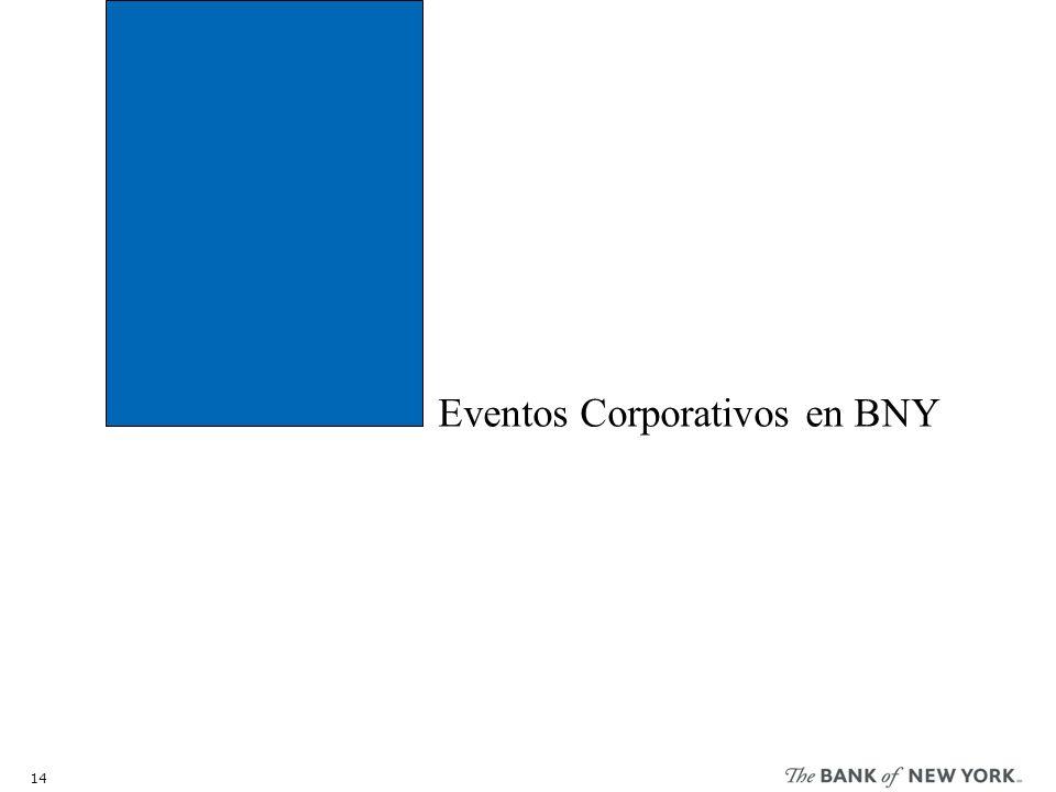 Eventos Corporativos en BNY 14