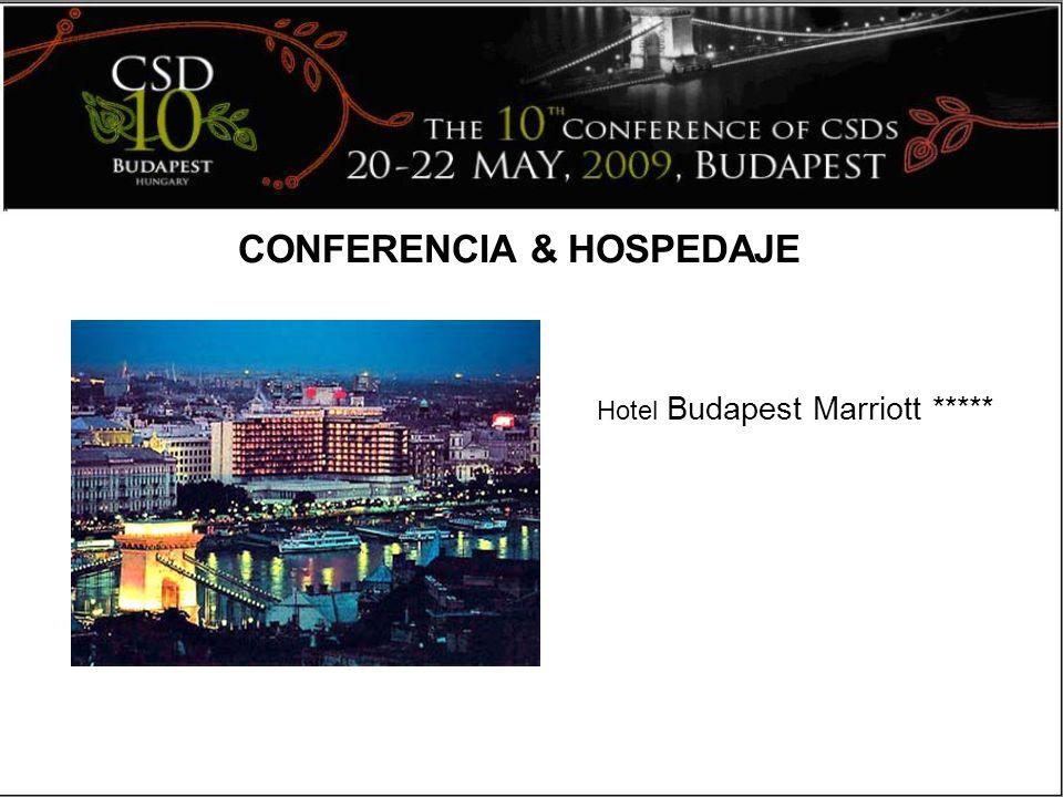 CONFERENCIA & HOSPEDAJE Hotel Budapest Marriott *****