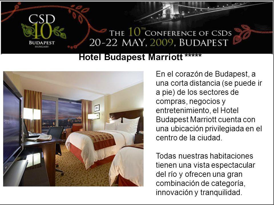 En el corazón de Budapest, a una corta distancia (se puede ir a pie) de los sectores de compras, negocios y entretenimiento, el Hotel Budapest Marriott cuenta con una ubicación privilegiada en el centro de la ciudad.