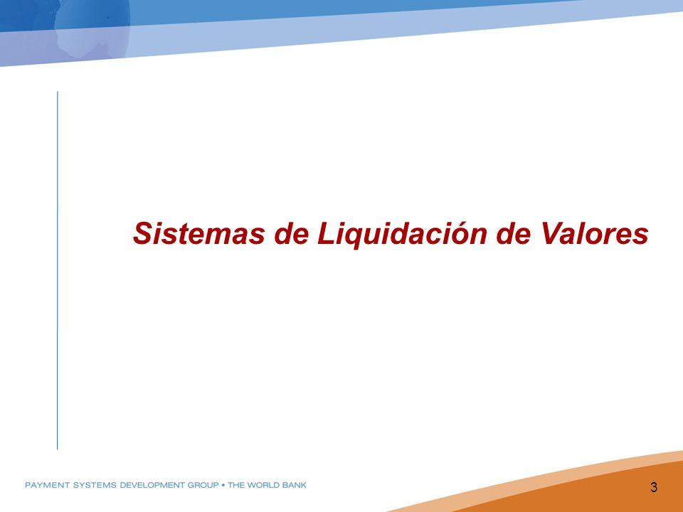 Sistemas de Liquidación de Valores 3