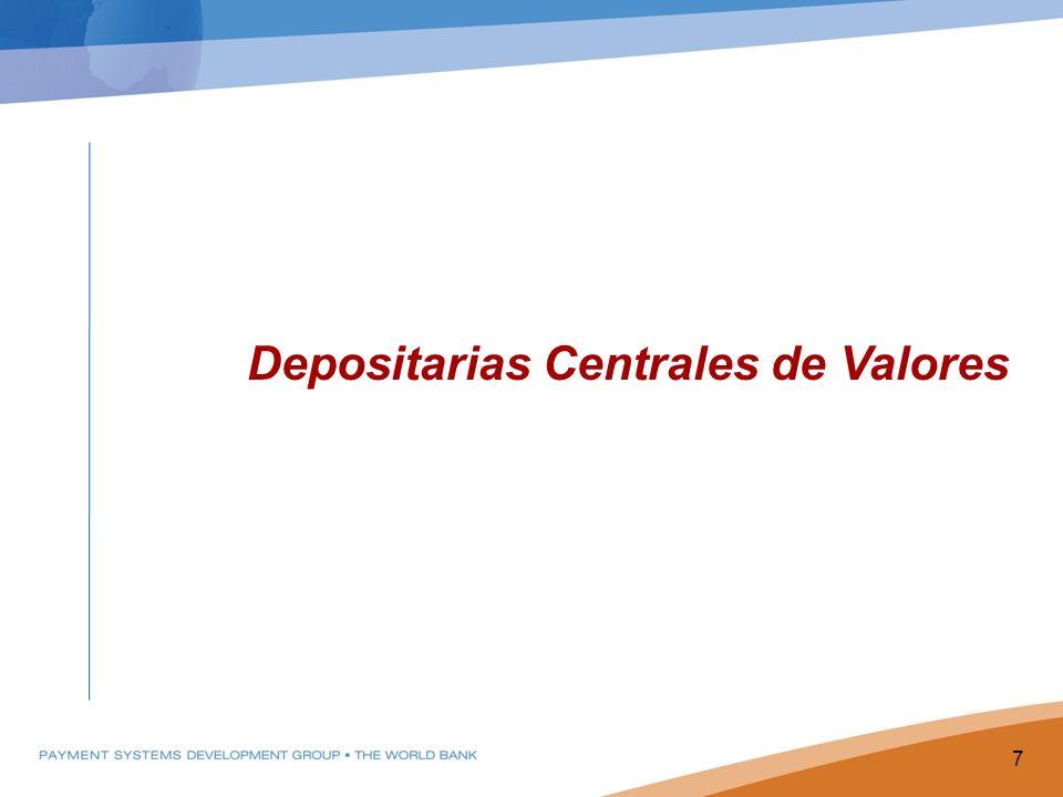 Depositarias Centrales de Valores 7