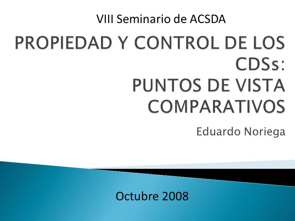 Eduardo Noriega VIII Seminario de ACSDA Octubre 2008