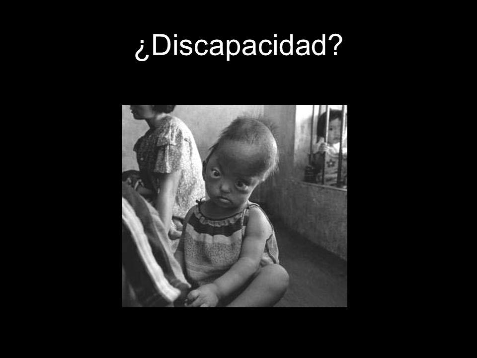 ¿Discapacidad