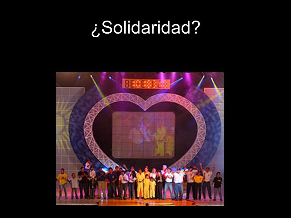 ¿Solidaridad