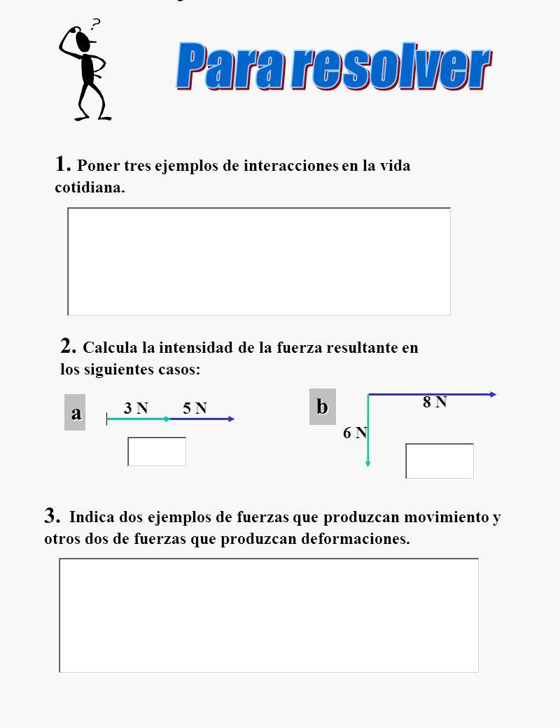 Representamos la fuerzas por vectores. Los vectores son segmentos orientados, cuyos elementos, dirección, sentido, origen y longitud se pueden hacer c