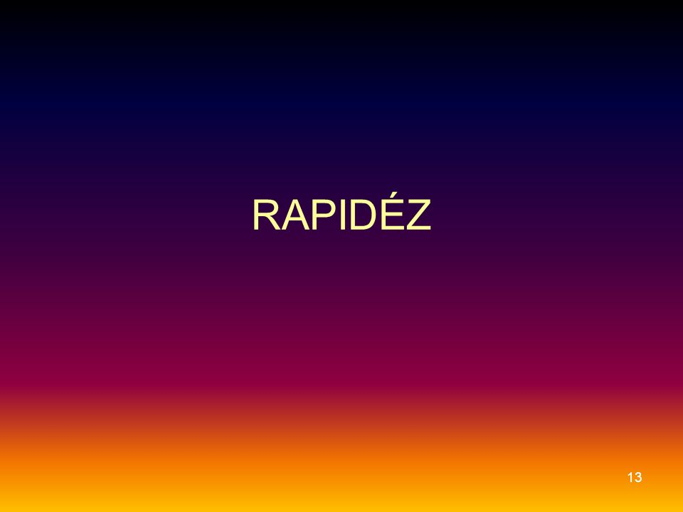 RAPIDÉZ 13