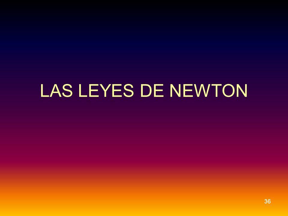 LAS LEYES DE NEWTON 36