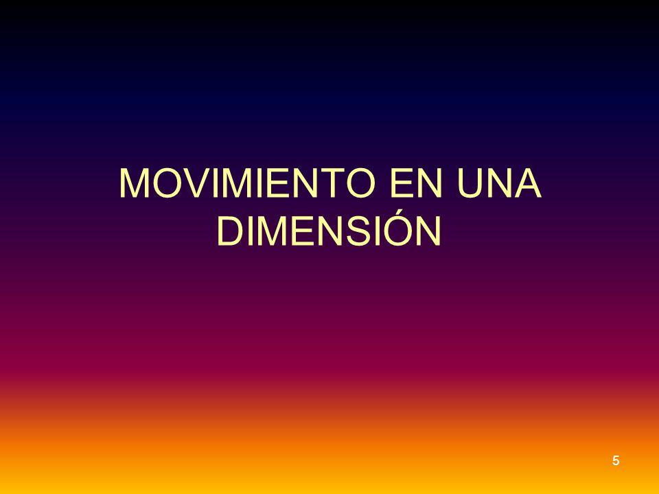 MOVIMIENTO EN UNA DIMENSIÓN 5