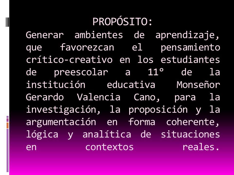 Se basa en el PROYECTO DE INTELIGENCIA HARVARD, iniciativa del gobierno venezolano (Luis Alberto Machado) para facilitar el desarrollo del potencial intelectual de los estudiantes, a través del fortalecimiento del pensamiento inductivo, deductivo, comprensivo y modificación de conductas.