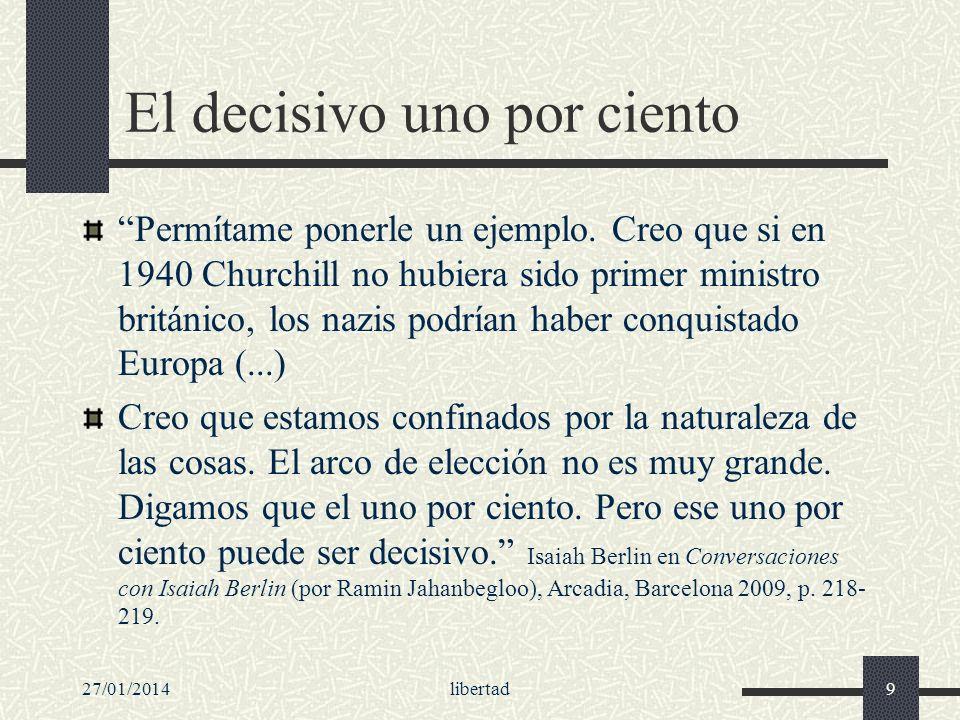 27/01/2014libertad130 Ideales que no cabe dar por sentado Racionalidad, autonomía, democracia: ideales.