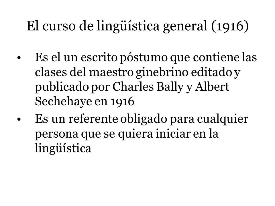 ¿Por qué se dice que la lingüística nace como ciencia con Saussure.