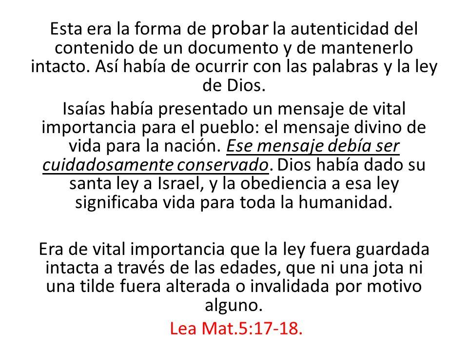 Observe que mientras que Dios dice: «Acuérdate de Santificar el Sábado», este poder dice: «No, guarda el domingo».