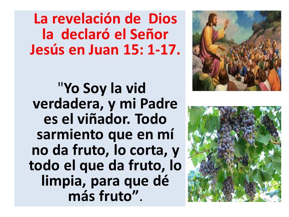 Se espera que el que profesa estar en Cristo dé frutos que correspondan con su profesión.