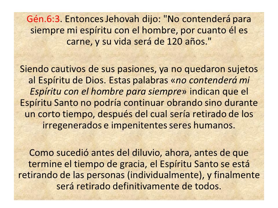 Gén.6:3.