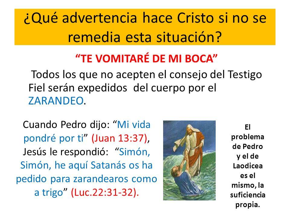 PORQUE TU DICES: YOSOY RICO, Y ME E ENRRIQUECIDO…ERES (1),UN DESVENTURADO (2), MISERABLE (3), POBRE (4), CIEGO Y (5), DESNUDO.