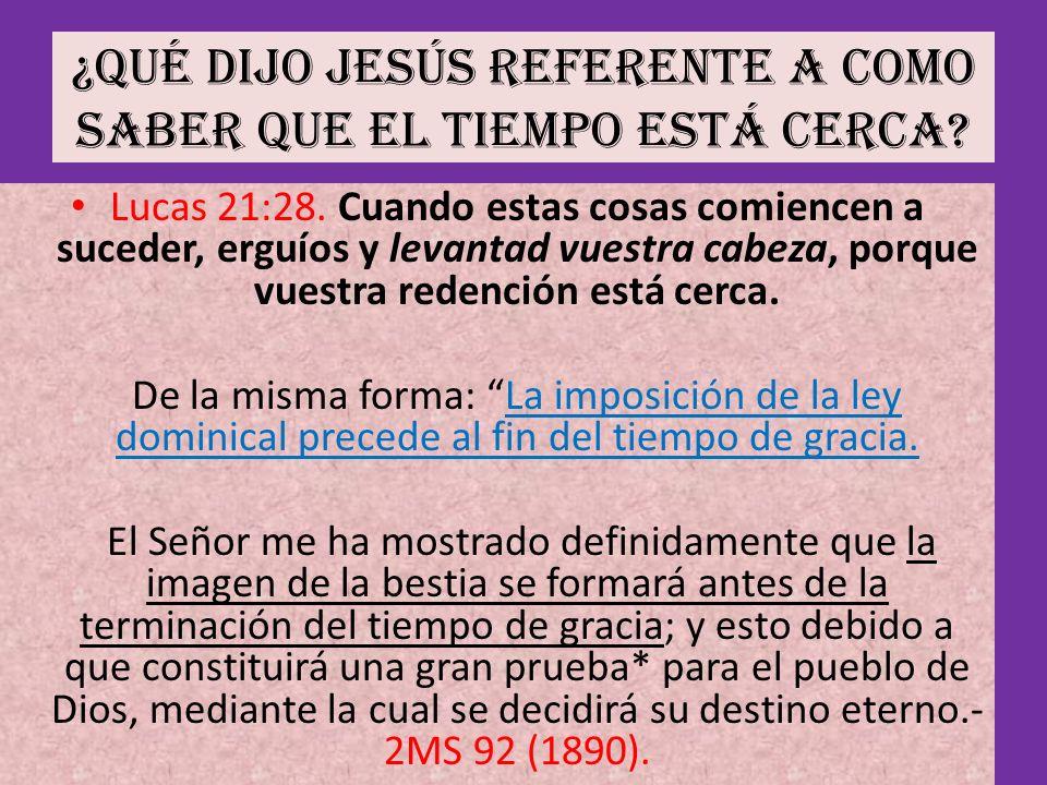 No habrá tiempo de gracia después de la venida del Señor Los que dicen que lo habrá, están engañados y extraviados.