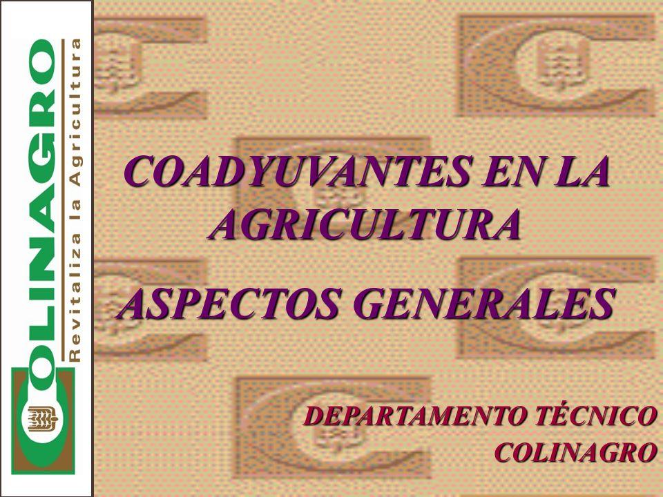 INTRODUCCIÓN Uno de los factores más críticos para maximizar los beneficios de las prácticas agrícolas modernas es la obtención de un valor total de los productos de protección y producción de cultivos.