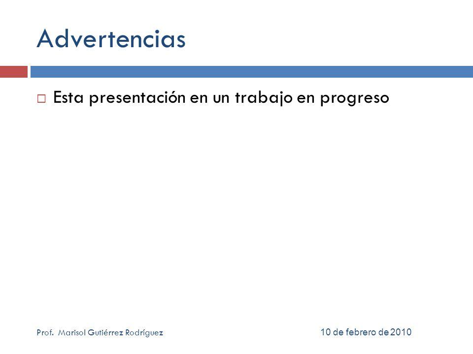 Referencias bibliográficas Que hay de nuevo… 6 abril 2010 26 Prof.