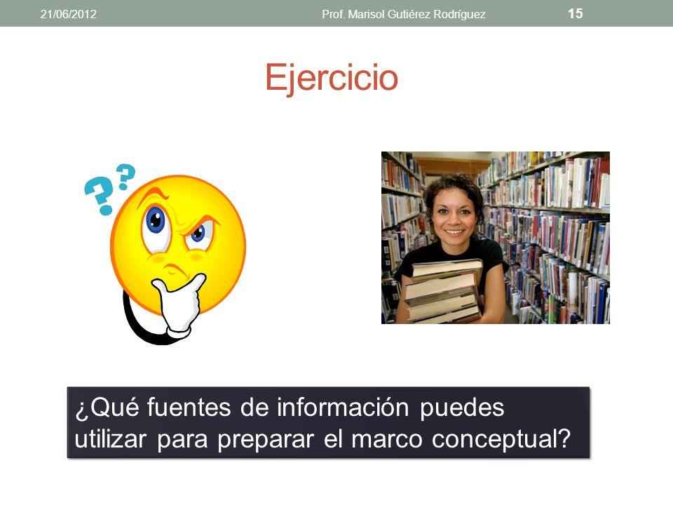 Marco conceptual Los conceptos y términos que intervienen en la definición del problema (Pinto Molina, 2004, 2009). El investigador define y delimita