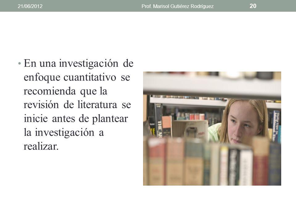 CuantitativaCualitativa Documenta la importancia del problema al inicio del estudio en un capítulo o sección separada. Documenta la importancia del pr