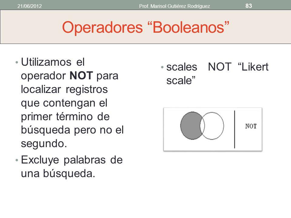 Operadores Booleanos Utilizamos el operador OR para localizar registros que contengan cualquiera o todos los términos especificados. Amplía los result