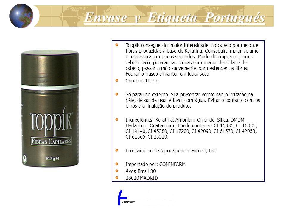 Toppik consegue dar maior intensidade ao cabelo por meio de fibras produzidas a base de Keratina. Conseguirá maior volume e espessura em pocos segundo