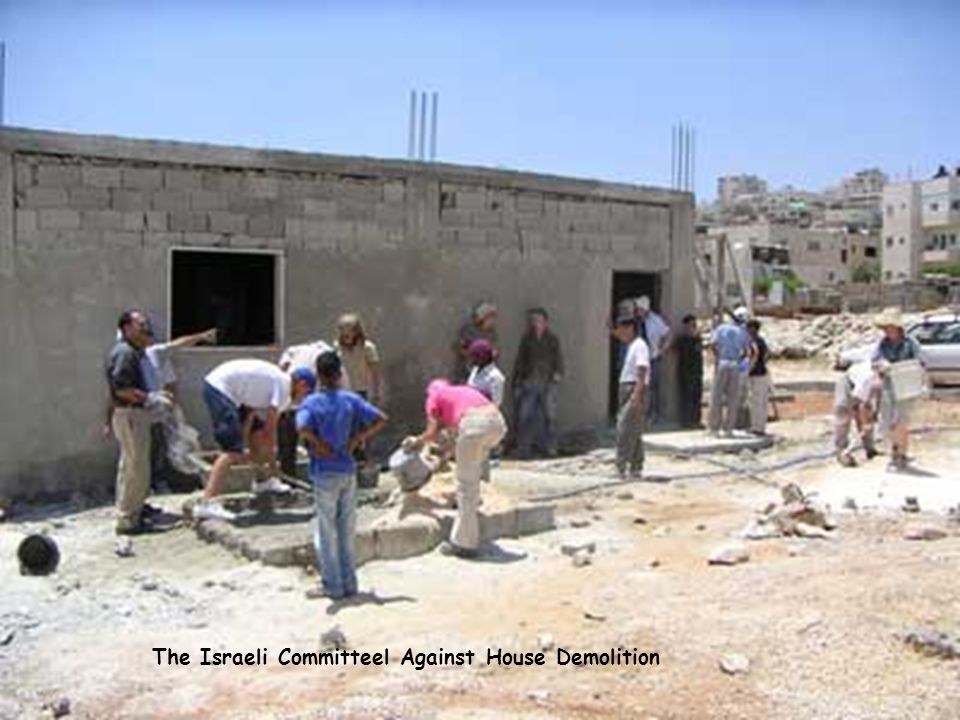 The Israeli Committeel Against House Demolition