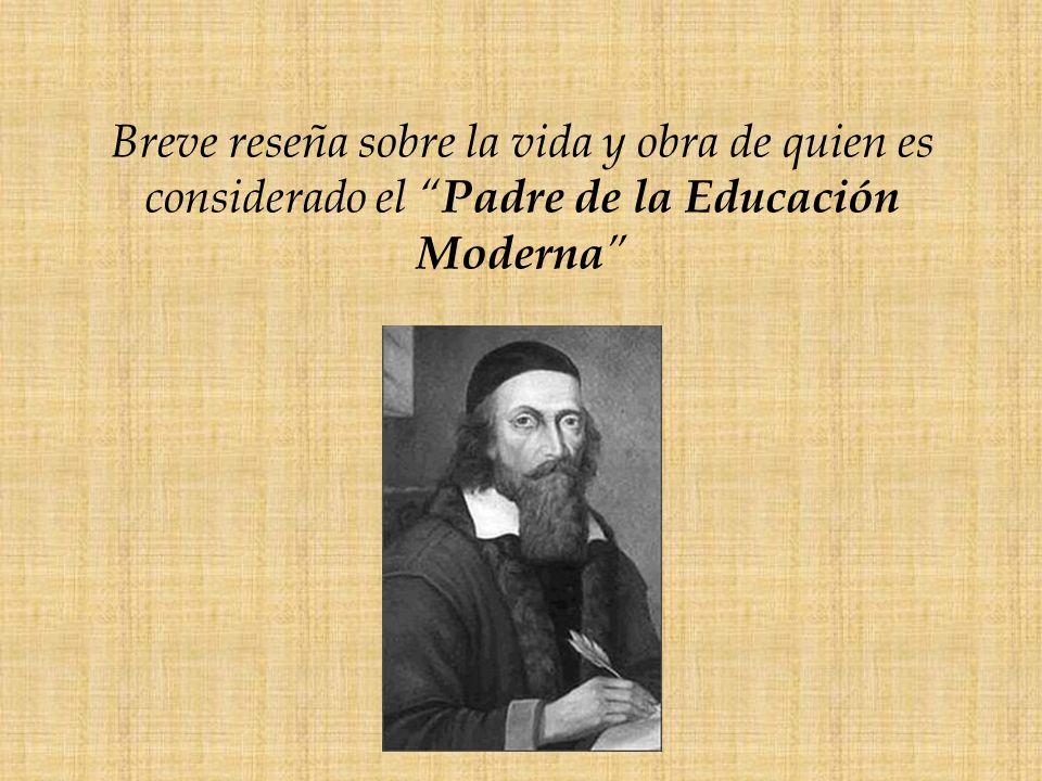 Hablar de Comenius, es hablar de la Europa renacentista de los siglos XVI y XVII.