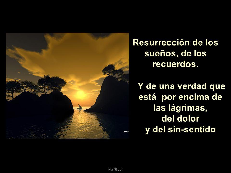Ria Slides Resurrección de la amistad y de la voluntad de ser feliz..