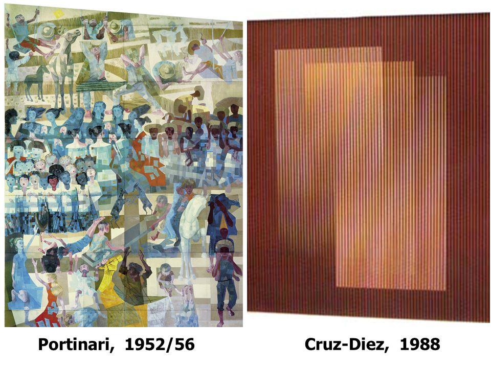 Cruz-Diez, 1988 Portinari, 1952/56
