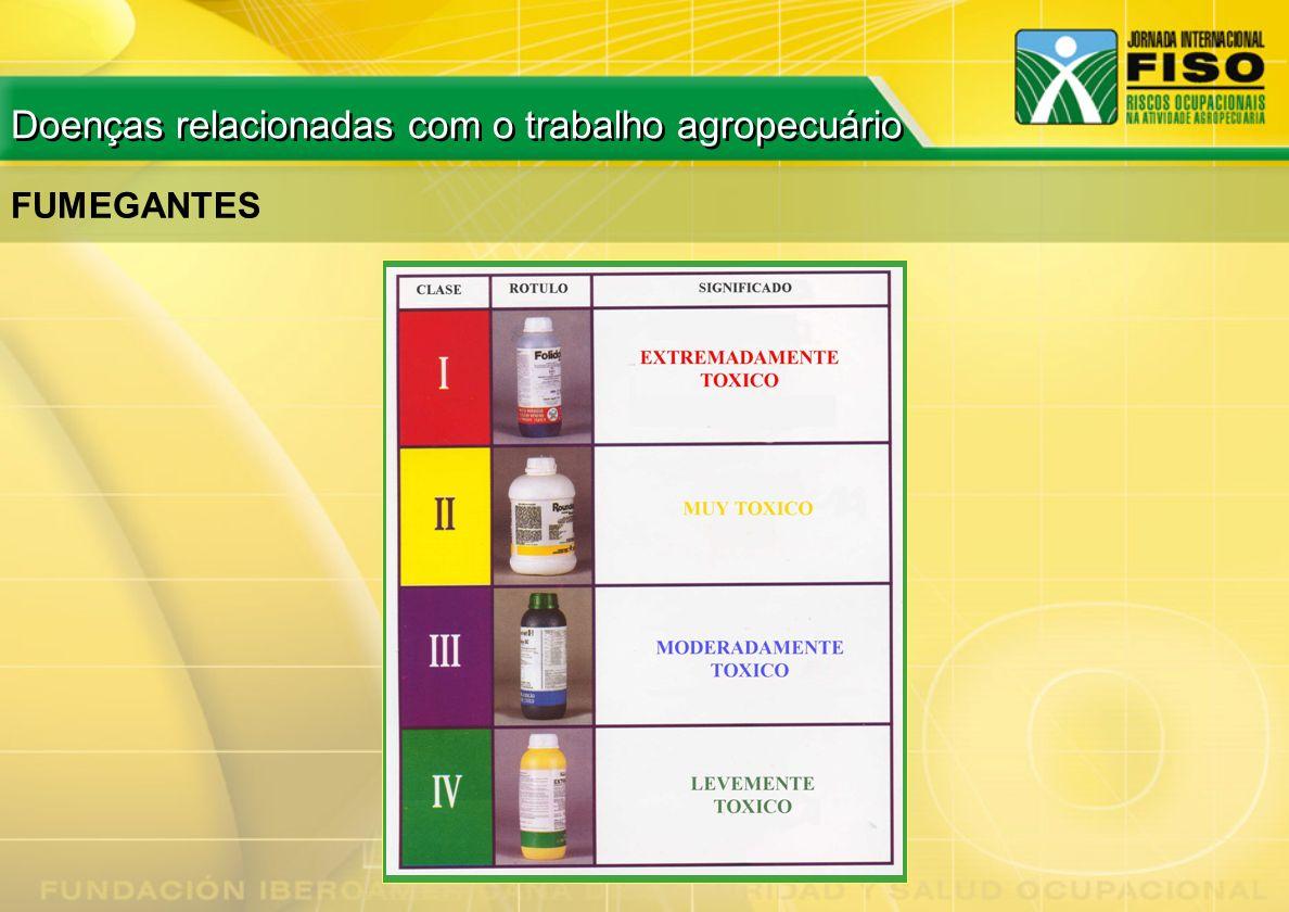 FUMEGANTES Doenças relacionadas com o trabalho agropecuário