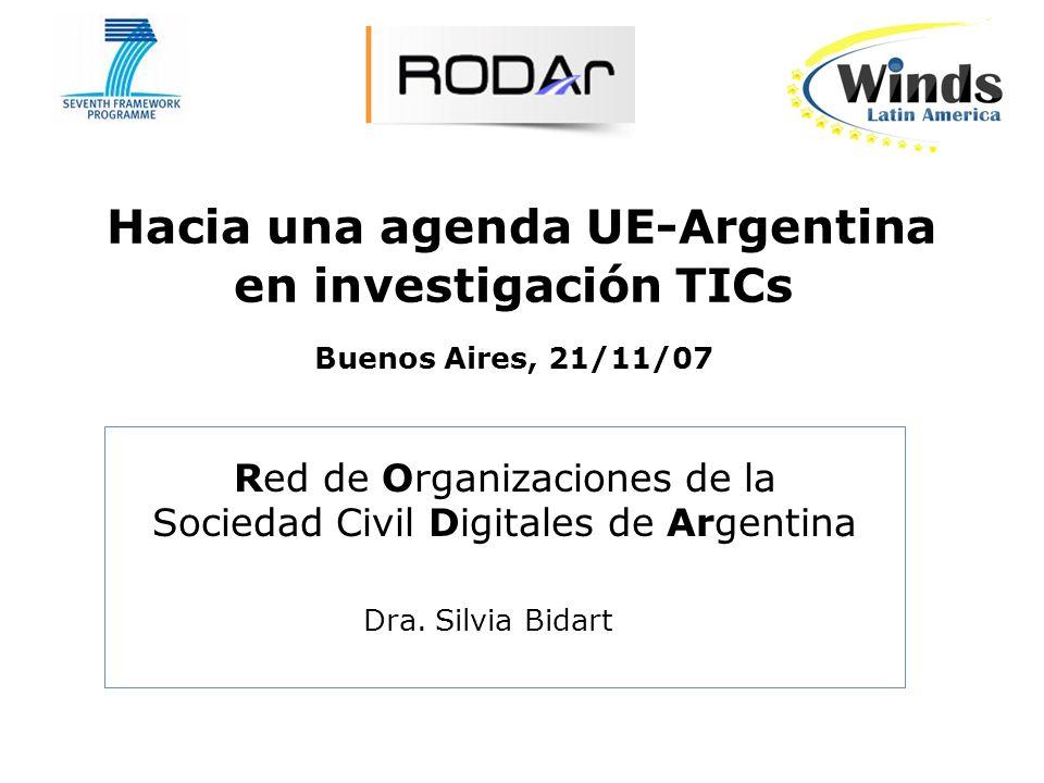 Índice de la presentación: 1.Porqué RODAr invita a adherirse al Manifiesto por la Agenda Digital.