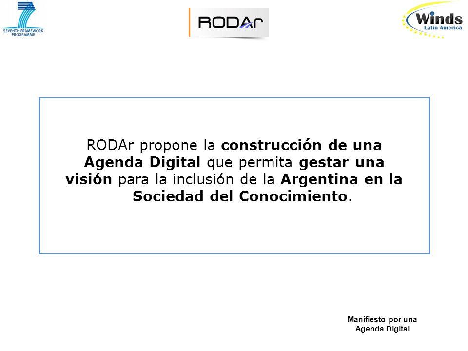 RODAr manifiesta su apoyo a toda iniciativa emanada del Gobierno Nacional tendiente a la formación en el más corto plazo posible, de un Comité de Expertos, públicos y privados, de base amplia, interdisciplinaria e intersectorial.