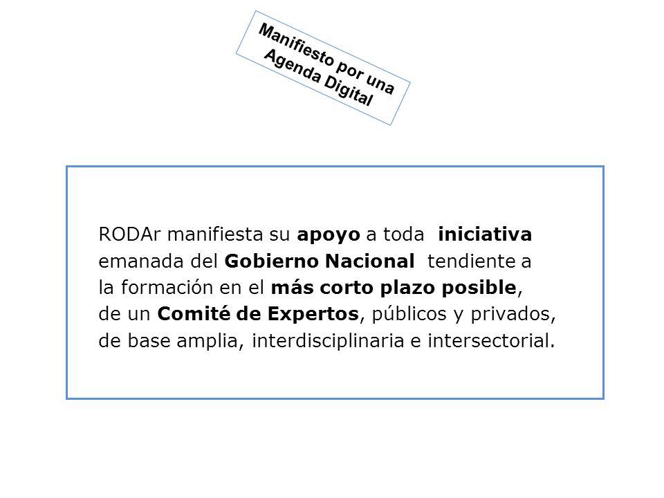 Condiciones para una Política de Estado para el pleno desarrollo de la Argentina en la Sociedad del Conocimiento Que perdure Visión a Largo Plazo Plan de Acción que se concrete Consensuada