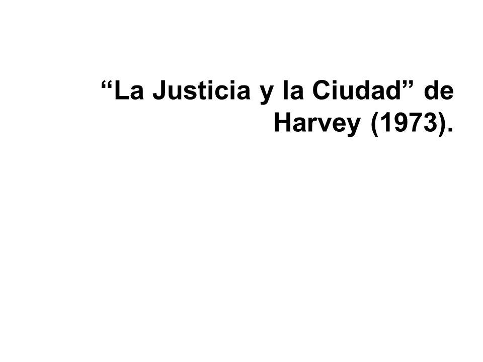 La Justicia y la Ciudad de Harvey (1973).