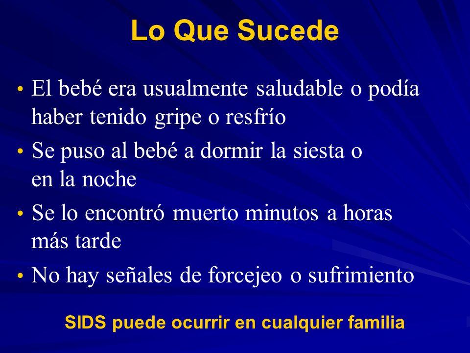 9 Formas de Reducir el Riesgo de SIDS 1.