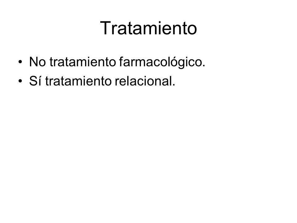 La relación como tratamiento Dificultades: –El profesional no se lo cree.