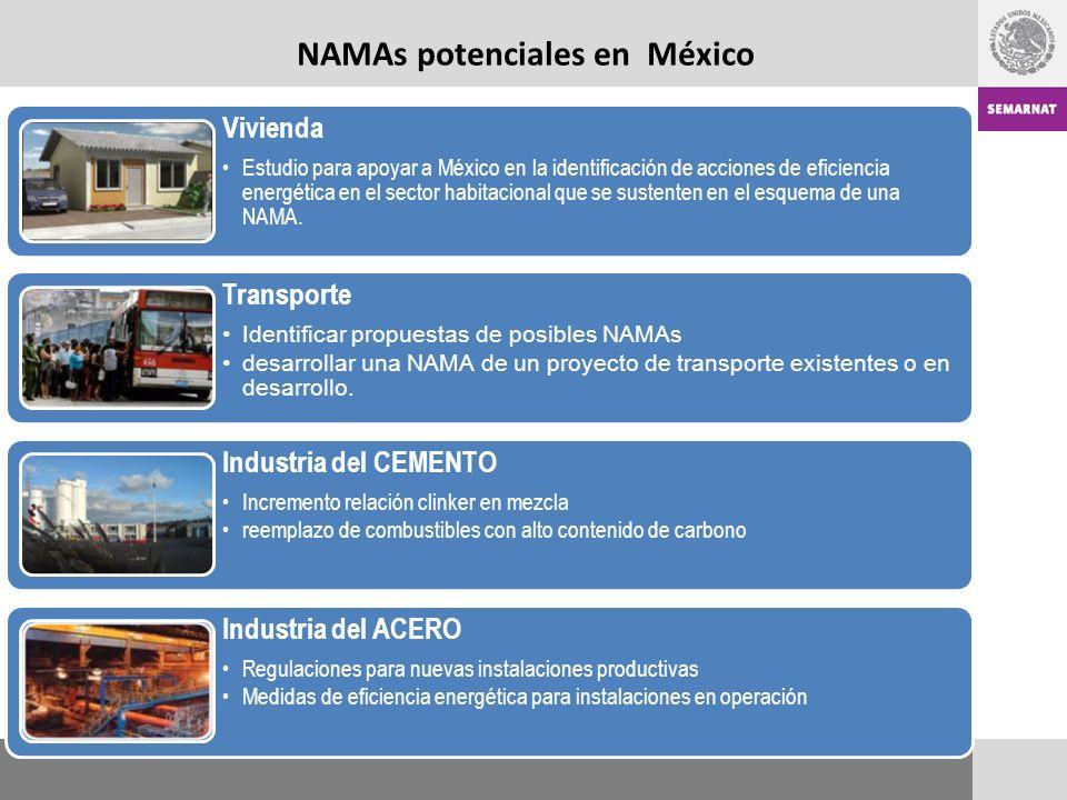 Vivienda Estudio para apoyar a México en la identificación de acciones de eficiencia energética en el sector habitacional que se sustenten en el esquema de una NAMA.